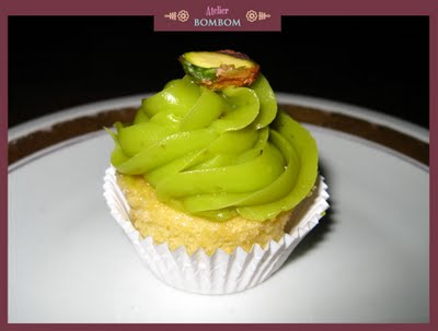 cupcake pistache