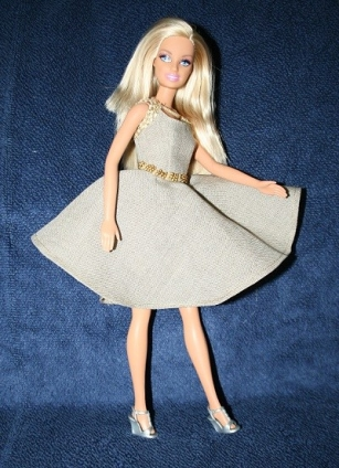 Barbie Linen Dress